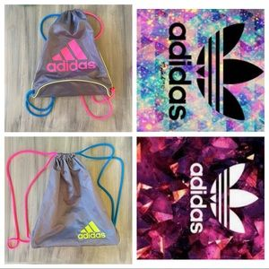 Neon Adidas sporty backpack